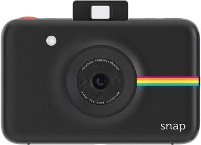 Polaroid Snap Instant Camera (Black) with ZINK Zero Ink Printing Technology Instant Camera(Black)