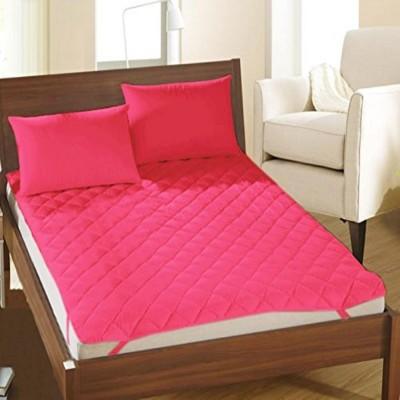Blue Diamond Mattress Topper King Size Mattress Protector(Pink)