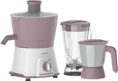 PHILIPS Viva Collection HL7578/00 600 W Juicer Mixer Grinder(Pink, White, 3 Jars)