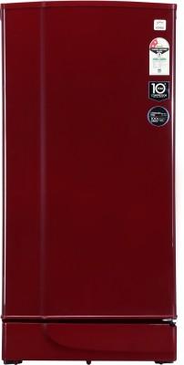 Godrej 190 L Direct Cool Single Door 2 Star  2019  Refrigerator Wine Red, RD EDGE 205 WRF 2.2 WIN RED Godrej Refrigerators