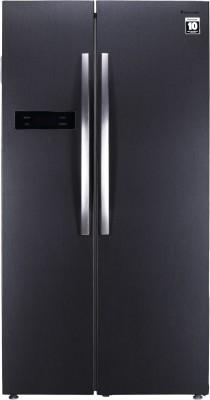 Panasonic 584 L Frost Free Side by Side Refrigerator Dark Grey Steel, NR BS60MHX1