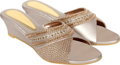 Inte Enterprises Women Silver Heels