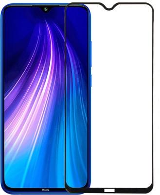 Karpine Edge To Edge Tempered Glass for Mi Redmi Note 8, Xiaomi Mi Redmi Note 8(Pack of 1)