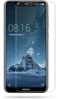 VALUE Tempered Glass Guard for Nokia 5.1 Plus(Pack of 1)
