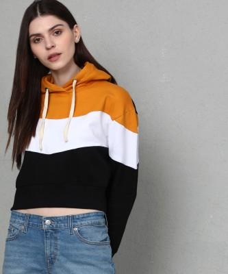 Metronaut Full Sleeve Solid Women Sweatshirt