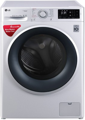 LG 8 kg Fully Automatic Front Load Silver(FHT1208SNL)