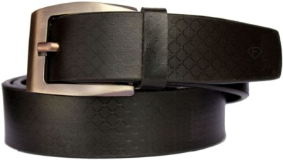 Fashius Men Casual Black Artificial Leather Belt