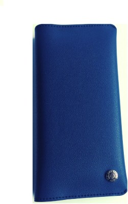 Realtech Pouch for Motorola Moto E3 Power(Blue, Dual Protection)