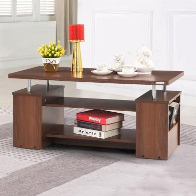 RoyalOak Cairo Engineered Wood Coffee Table(Finish Color - Brown)