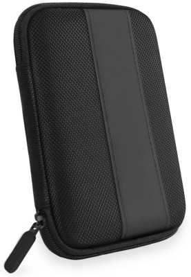 "Flipkart SmartBuy Hard Drive Pouch, 2.5 inch External Hard Disk Case(For Seagate, Sony, Transcend, ADATA, Hitachi, Toshiba, Dell, Lenovo, HP and other 2.5"" hard Drive disk, Black)"