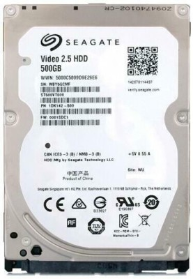 Seagate Seagate 500 GB Laptop Internal Hard Disk Drive (ST500VT000)