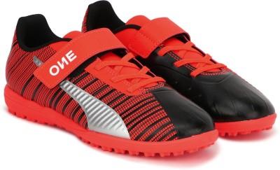 Puma Boys   Girls Velcro Football Shoes Black Puma Sports Shoes