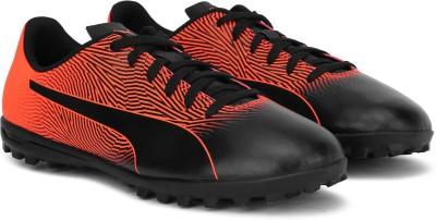 Puma Boys   Girls Lace Football Shoes Black Puma Sports Shoes