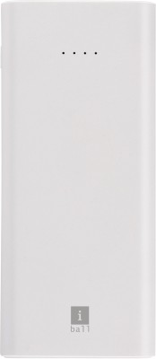 iBall 10000 mAh Power Bank (Fast Charging, 12 W)(White, Lithium Polymer)
