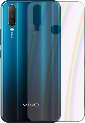 Marshland Back Screen Guard for Vivo, Y17, Rainbow Back Screen Protector, Flexible Anti Scratch(Pack of 1)