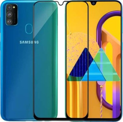 Boxxo Edge To Edge Tempered Glass for Samsung Galaxy A30, Samsung Galaxy A30s, Samsung Galaxy A50, Samsung Galaxy A50s, Samsung Galaxy M30, Samsung Galaxy M30s, Samsung Galaxy A20(Pack of 1)