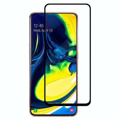 Tuta Tempered Edge To Edge Tempered Glass for Samsung A80(Pack of 1)