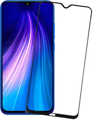 Karpine Edge To Edge Tempered Glass for Mi Redmi Note 8(Pack of 1)