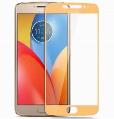 Knotyy Edge To Edge Tempered Glass for Motorola Moto E4 Plus(Pack of 2)
