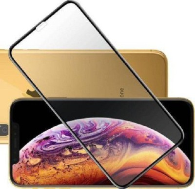 Head Kik Edge To Edge Tempered Glass for Iphone Apple XS(Pack of 1)