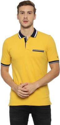 Allen Solly Solid Men Polo Neck Multicolor T-Shirt