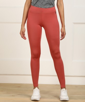 ADIDAS Solid Women Pink Tights