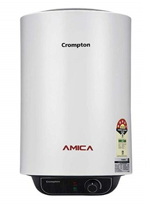 CROMPTON 25 L Storage Water Geyser (Amica 25L Gyger with Superior Polymer Coating, White)