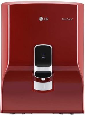 LG WW140NPR+MINERAL BOOSTER 8 L RO Water Purifier(Red)