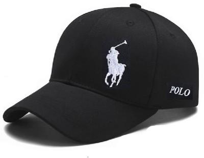 Huntsman Era Black Polo Baseball Cap