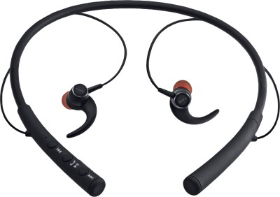 iBall Earwear-Base Bluetooth Headset with Mic(Black, In the Ear)
