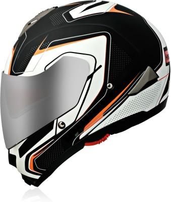 HEADFOX SMART BLUETOOTH Motorbike Helmet(White)
