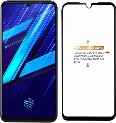 ajd Edge To Edge Tempered Glass for Vivo Z1x(Pack of 1)