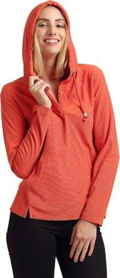 Moda Elementi Full Sleeve Solid Women Sweatshirt