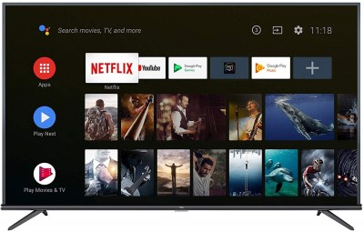 TCL 125.7cm (50 inch) Ultra HD (4K) LED Smart Android TV(50P8E)