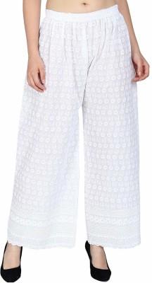 Seerat Regular Fit Women White Trousers