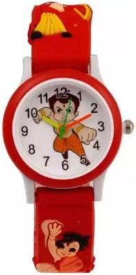 FTen 2021 New Stylish Chota Bheem Design Analog Watch   For Boys   Girls FTen Wrist Watches