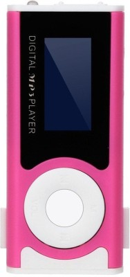 pinaaki ll55 64  GB MP3 Player Pink, 2 Display