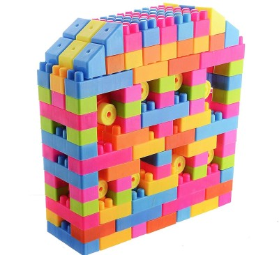 FRAONY 100 pieces building block toy for kids best ,creative ,learning, educational toy sharpen minds toy for your kids(Multicolor)