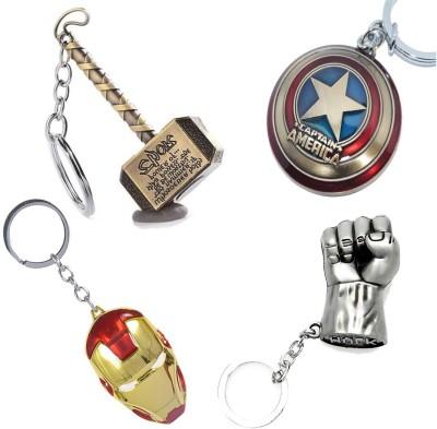 Raj Metal Alloy Marvel Key Chain
