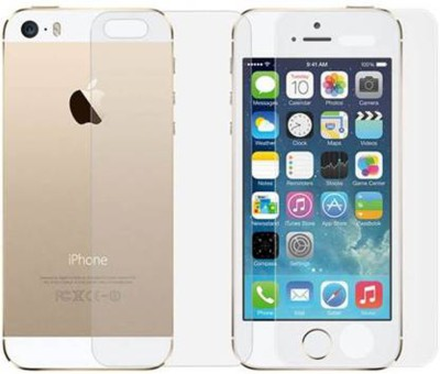 Khushal Front and Back Tempered Glass for Apple iPhone 5s(Pack of 2)