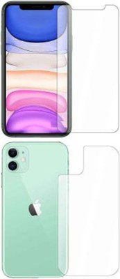PR SMART Front and Back Tempered Glass for Apple iPhone 11(Pack of 2)