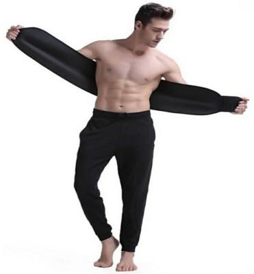 ABS New modal high Quality sweat slim belt for fat reducer 52 Slimming Belt(Black)