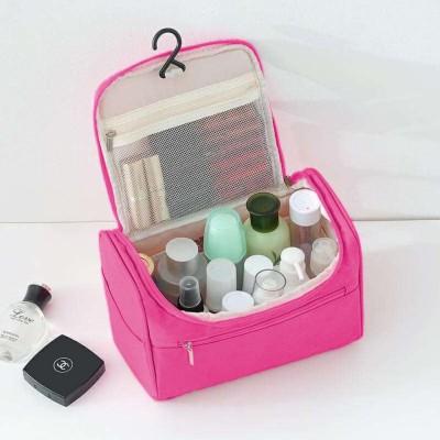 NIRVA Multifunctional Hanging Travel Toiletry Bag Organizer & Bathroom Storage Travel Toiletry Kit(Pink)