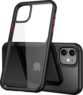 Tommcase Back Cover for Apple Iphone 11(Charcoal Black)