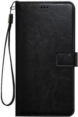 Sosh Flip Cover for RealMe 7i(Black, Cases with Holder)