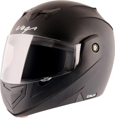 VEGA Crux Motorbike Helmet(Black)