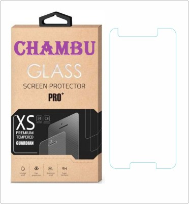 CHAMBU Tempered Glass Guard for Spice Android One Dream UNO Mi-498(Pack of 1)