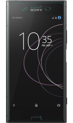 DOB Edge To Edge Tempered Glass for Sony Xperia XZ1(Pack of 1)