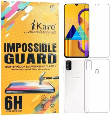 iKare Front and Back Screen Guard for Samsung Galaxy M30s(Pack of 2)