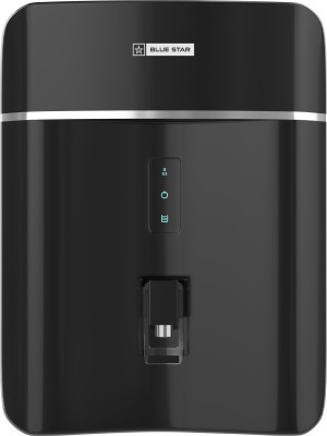Blue Star Opulus 8 L RO + UV + UF + AMI + Mineralizer Water Purifier  (Black)